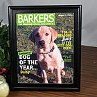 Dog Magazine Cover Frame