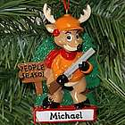 People Season Hunting Deer Personalized Ornament