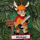 People Season Hunting Deer Personalized Ornament