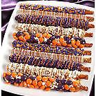 Gourmet Happy Halloween Pretzel Rods
