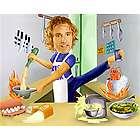 Male Super Chef Custom Photo Caricature Print