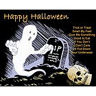 Ghost in the Graveyard Premium Luster Print