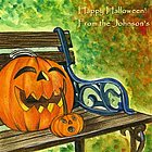 Happy Pumpkins Fine Art Print