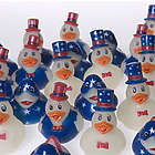 Mini Patriotic Rubber Ducks