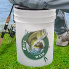 Sit 'n Fish Personalized Fishing Bucket Cooler