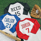 Personalized Kid's Sports Jersey with Name and Number