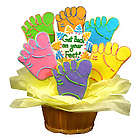 Personalized Get Back on Your Feet Sugar Cookie Basket