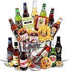 Men's Beer and Snacks Select Gift Bucket