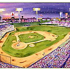 Fenway Park, Boston Art Print