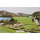 Large Perfect Day Personalized Golf Photo Canvas Wall Art