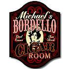 Handcrafted Bordello Cigar Bar Sign