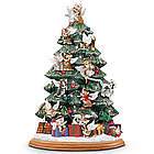 Purr-fect Holiday Illuminated Table Top Christmas Tree