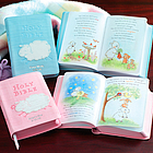 Personalized Pink or Blue Lamb Bibles
