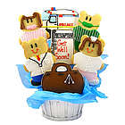 Doctors and Nurses Get Well Sugar Cookie Basket
