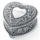Genoa Heart Vintage Jewelry Box