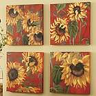 Sunflower Canvas Set