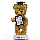 Personalized Graduation Bear Figurine