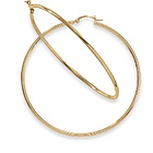14kt Gold Large Hoop Earrings