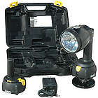 ACRO HID Rechargeable Flashlight/Worklight with Magnetic Base