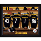 Personalized NFL Locker Room Sign