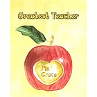 Teacher's Apple Fine Art Print