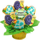 Speedy Recovery Turtles and Snails Sugar Cookie Basket