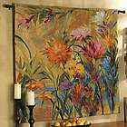 Floral Watercolor Tapestry