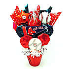 Boston Red Sox Cookie Pot Bouquet