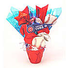 Chicago Cubs Cookie Pot Bouquet