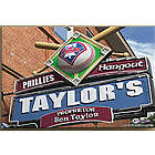 Personalized 24x36 Philadelphia Phillies Pub Sign