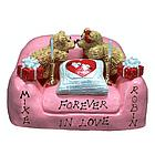 Personalized Valentine's Chair for Romantic Bears
