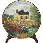 Monet's The Artist's House Mini Plate