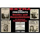 Presidential Deaths & Assassinations Replica Newspaper
