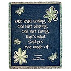 Personalized Sister Throw
