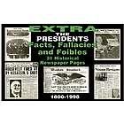 U.S. Presidential Facts Historical Replica Newspaper Set