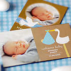 Baby Themed Save the Date Photo Magnets