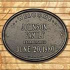 Personalized Established Welcome Plaque