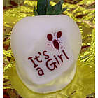 """It's a Girl"" Chocolate Covered Strawberries"