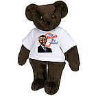 "15"" You Barack My World T-Shirt Bear"