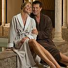 Monogrammed Luxury Microfiber Spa Bathrobe