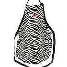 Personalized Zebra Full Length Apron
