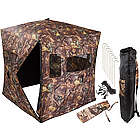 Portable Wooded Oak Camouflage Hunting Blind