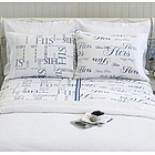 His & Hers Queen Sheet Set