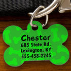 Personalized Dog Bone ID Tag