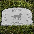 Personalized Pet Memory Garden Stone