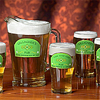A Bit Irish Personalized Glass and Pitcher Set