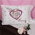 My Sleeping Beauty Personalized Pillowcase