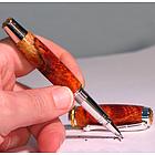 Amboyna Burl Handmade Pen