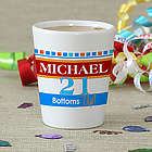 Personalized Happy Birthday Shot Glass