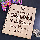 All Our Hearts Personalized Photo Album